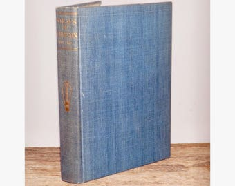 Poems by Lord Tennyson,Volume II,1902,classic poetry,vintage Tennyson book,old blue blue,English poetry,gold lettering,blue book