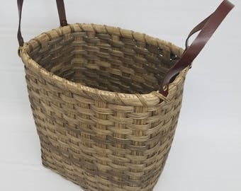 BASKET, handwoven, baskets, handmade, reed, storage basket, organization, toy storage, storage, farmhouse, primitive, gift, decor, wedding