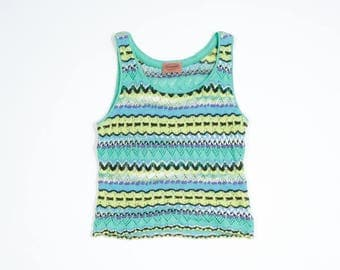 MISSONI - Short multicolor top