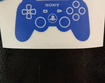 Playstation 4 Controller Decal Any Size Any Colors