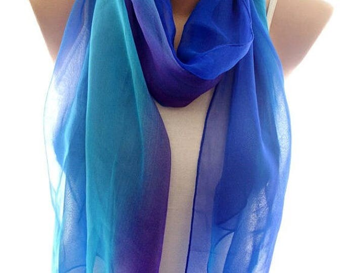 Chiffon scarf, scarves for women, soft scarf, cozy scarf, trendy scarf