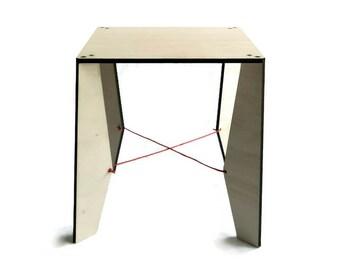 Minimalist square coffee table,contemporary table,living room furniture,contemporary coffee table,laser cut wood table,minimalist furniture