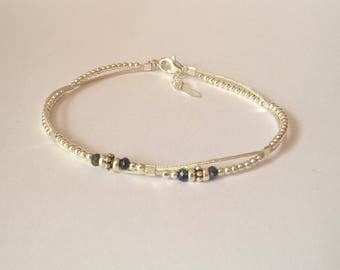 Japanese silk cord bracelet