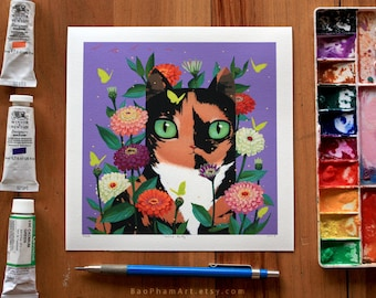 Calico Kitty - Limited Edition Print