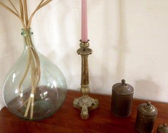 Vintage ormolu candle holder/chandelier