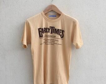 Vintage Early Times Tshirt