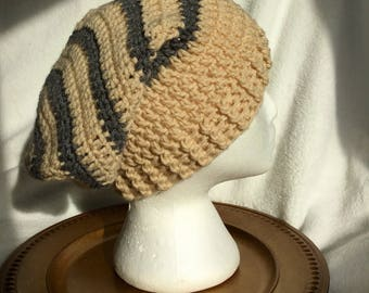 Adult slouchy winter beanie slouch hat