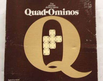 Vintage 1978 QUAD-OMINOS GAME by Pressman games