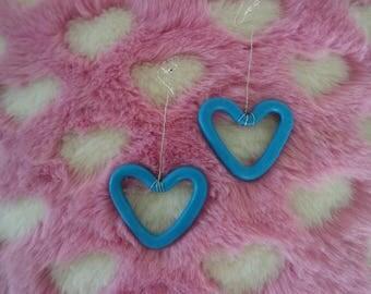 Blue Heart Beat Hoops