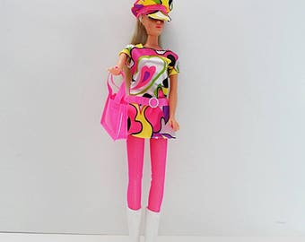 And then there's MOD (~,*) ~ for Barbie ~ GoGo Lace up Boots & Fishnet Stockings