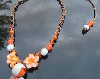 Orange Fire-Flower
