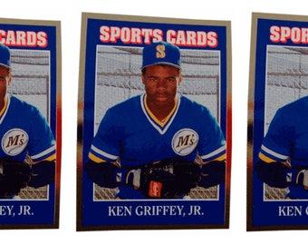 5 - 1992 Sports Cards #51 Ken Griffey Jr. Baseball Card Lot Seattle Mariners