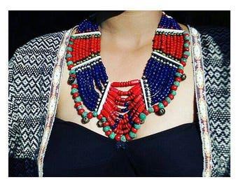 Beautiful naga necklace.