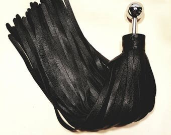 Custom Heavy MotorChap Ball Handle Thuddy Flogger