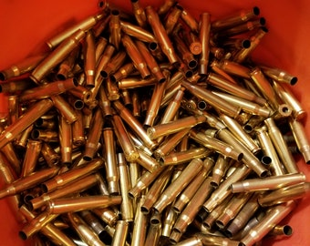 100+ pieces of fired 30-06 range brass. Lightly Polished.