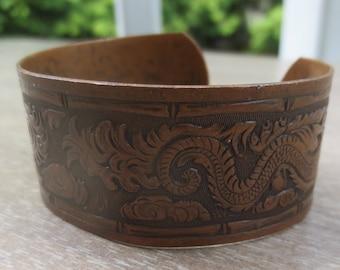 1970s Copper Cuff Bracelet