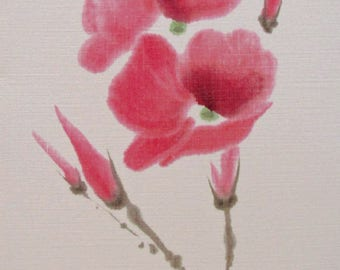 Poppy - Greeting, Note and Gift Size Cards