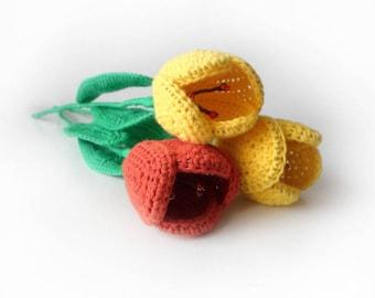 Tulip Flower Crochet