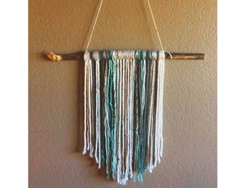 Custom Yarn Wall Hangings - Pick Your Colors and Shape