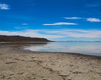 The Great Salt Lake @ Antelope Island
