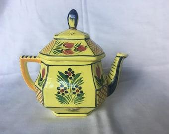 Henriot Quimper Teapot