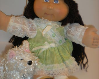 Cabbage Patch Kid 2007 Play Along 25th Anniversary, and pet Webkinz