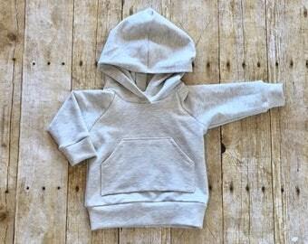 Baby sweatshirt // baby hoodie // toddler sweatshirt //  toddler hoodie // oatmeal sweatshirt // oatmeal hoodie