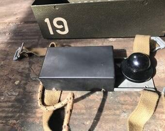 Wireless Set 19 Morse Key with case