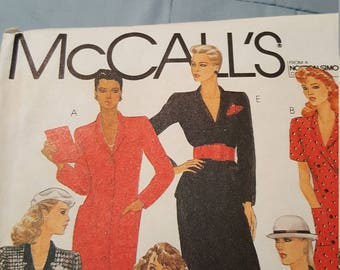 Vintage McCalls size 14 #8669 new and uncut
