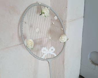 Badminton racket revisited... decor custom