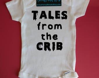 Baby Halloween, Halloween Onesie, Tales From the Crib, Halloween Costume, Baby Halloween Outfit, Baby Halloween Girl, Baby Halloween Boy