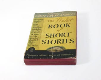 The Pocket Book of Short Stories  Paperback  1941