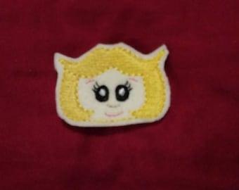 Space Mom Feltie Embroidery Design