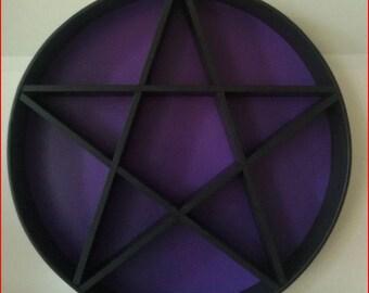 Pentagram Shelf 80 cm of Diameters