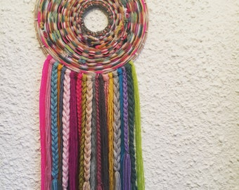 Colourful Weaved wall hanging