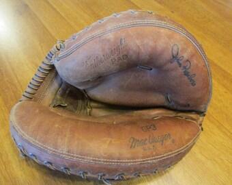 1960s MacGregor baseball catcher's glove