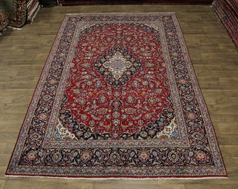 Nice Rare Size S Antique Ardakan Kashan Persia Area Rug Oriental Carpet 8ʹ5X13