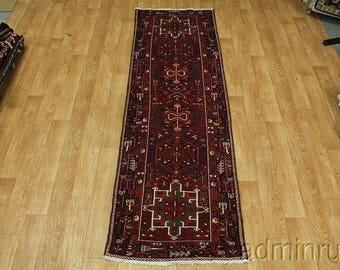 Excellent Quality Karajeh Gharajeh Runner Persian Oriental Area Rug Carpet 3X11