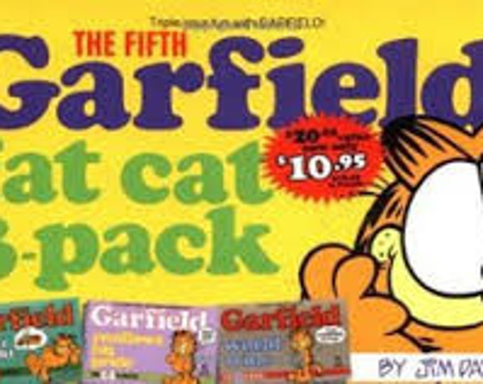 Garfield Fat Cat 3-Pack #5 by Jim Davis Food for thought/pride/world wide
