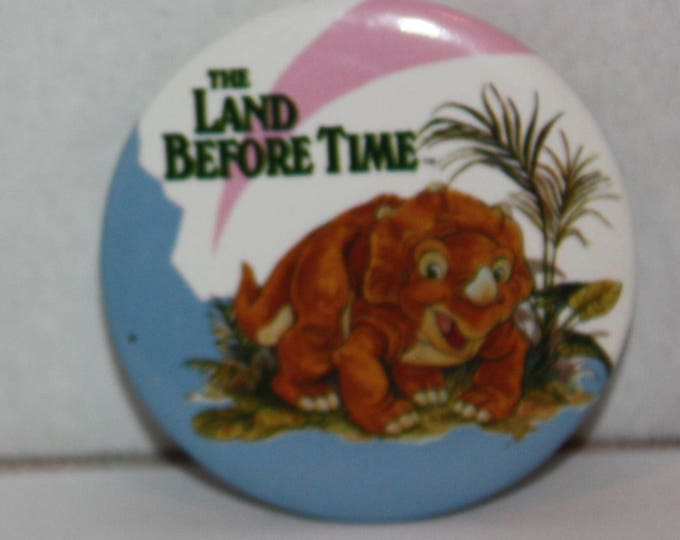 The Land Before Time Movie Cera 1988 Pinback Button