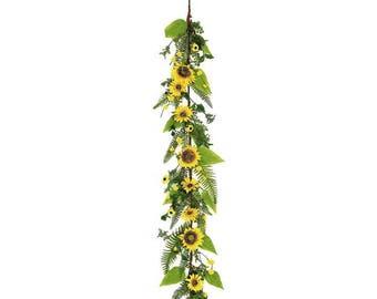 ESE Sunflower & Blossom GARLAND, 5'