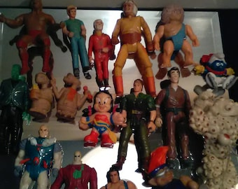 Vintage Action Figure Lot  (Mixed)*******1970's-1980's Mainly***************