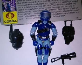 Vintage GI Joe Action Figure Cobra Communications Double Pack ***1980's-Early 1990's****** Check Out My other Listings