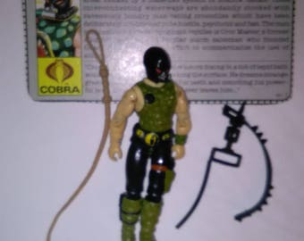 Vintage GI Joe Action Figure Croc-Master ***1980's-Early 1990's****** Check Out My other Listings