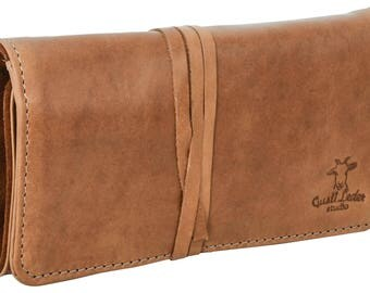 Gusti leather 'Casper' stationery case Organizer