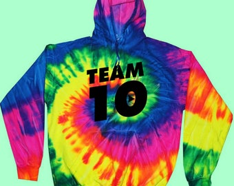 Official Team 10 KIDS SIZE Unisex Hoodie Official Team 10 JP t-shirt best price fast shipWe  have size for kids