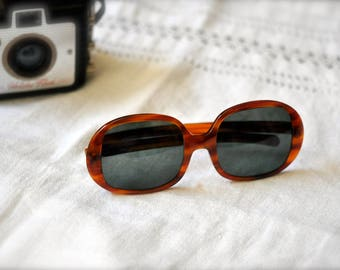 Vintage Bausch & Lomb Ray-ban  Ladies  Tortoise Big Sunglasses 60's