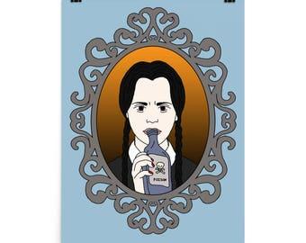 Wednesday Addams Art Print