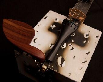 Folk Art Cigar Box Violin/New Orleans