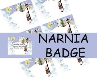 Made To Order Narnia badge